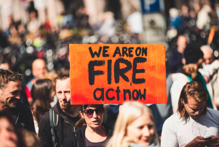 We are on fire - act now