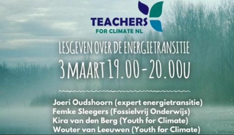 teachers for climate livecast