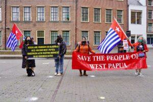 Demonstratie West Papua