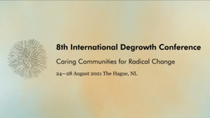 degrowth banner