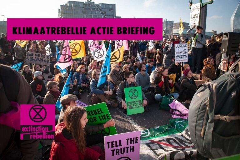 Actie briefing