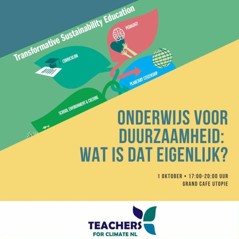 Banner teachers for climate